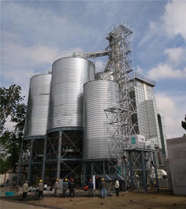 江苏中萃米业500吨/日小麦稻谷环球体育app网站工程